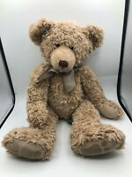 Russ Berrie Thornbury Brown Teddy Bear Bow Tie Plush Kids Stuffed Toy Animal