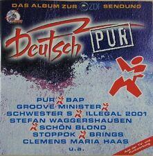 Deutsch Pur (1995) Pur, Bap, Groove Minister, Schwester S, Brings.. [CD]