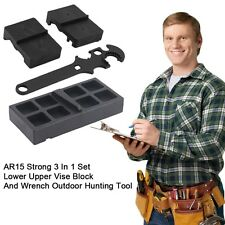 AR15 Strong 3 In 1 Set Lower Upper Vise Block And Wrench Outdoor Hunting Tool