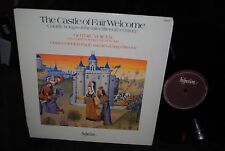 CASTLE OF FAIR WELCOME Gothic Voices Medieval Harp HYPERION LP
