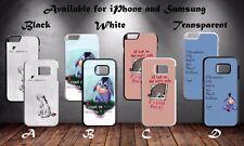 Eeyore Winnie The Pooh Disney Quotes Hard Phone Case Cover X325