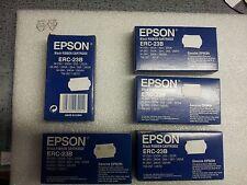 Lot 5 Rubans Cassettes Cartouches Noir Nylon pour Epson ERC-23, ERC-23B