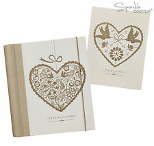 Wedding Planner Book/Journal/Organiser AND Sticky Notes - Engagement Gift Set