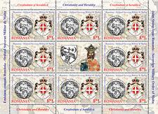 2012 Cristianesimo e araldica - Romania - minifoglio [8+1]