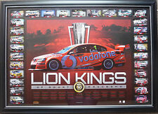 BATHURST 50 YEARS HOLDEN RACE WINS LION KINGS OF MOUNT Peter Brock Craig Lowndes