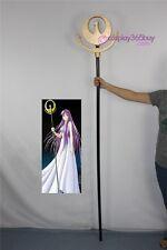 Saint Seiya Athena Saori Kido wand stick cosplay prop pvc made