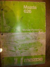 Mazda 626 années 1979... : MANUEL D'ATELIER