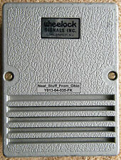 WHEELOCK SIGNALS® CHIME. ELECTRO-MECHANICAL - PLEASANT TONE - 6 VOLTS AC