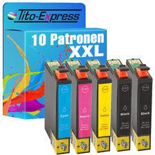 10 cartucce d'inchiostro ecoserie per Epson Stylus sx430w s22 sx125 sx130 te1281-84
