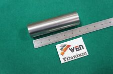 "50mm Dia Titanium 6al-4v Round Bar 1.97"" x 6"" Ti Grade 5 rod Solid Metal 1pc"