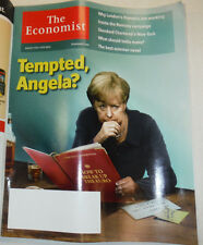 The Economist Magazine Tempted Angela August 2012 010915R
