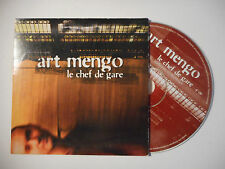 ART MENGO : LE CHEF DE GARE ♦ CD SINGLE PORT GRATUIT ♦