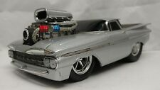 Muscle Machines 59 Chevy El camino pro touring 1:18 Custom Streetrod slammed