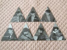 Lot of 7 GOT7 7 FOR 7 PRESENT EDITION Triangle Ver. Photocard Full Set 2nd Press