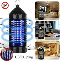 EU/US Electric UV Mosquito Killer Lamp Outdoor/Indoor Fly Bug Insect Zapper Trap