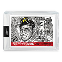 💥Topps PROJECT 2020 Card 68 1955 Roberto Clemente by JK5 Print Run: 8,518 💥