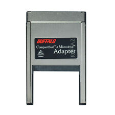 CF card Reader PC PCMCIA card Adaptor BUFFALO CompactFlash MciroDrive Adapter