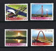 China Taiwan 2008 Bridge Series No. 2 stamps