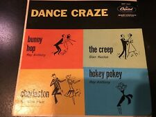 DANCE CRAZE Ray Anthony Stan Kenton Pee Wee Hunt  PICTURE SLEEVE ONLY No RECORD