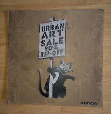 Artist NOT Banksy Dipinto originale su cartoncino URBAN firmato artista prova.
