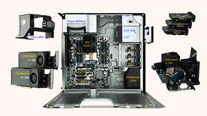 16-Core HP Z620 Workstation 800Watt + 2x Xeon E5-2670+32GB ram+ 256GB SSD W10