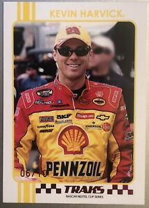 2007 TRAKS RED NUMBERED PARALLEL #R10 KEVIN HARVICK #06/10! SUPER~RARE