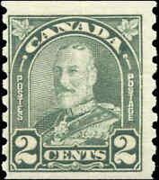 Canada Mint NH 1930 2c F Scott #180 King George V Arch Leaf Coil Stamp