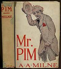 A A MILNE / Mr Pim 1930