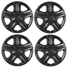 """New 2010 2011 2012 FORD FUSION 17"""" BLACK Hubcap Wheelcover SET of 4"""
