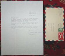 ISAAC ASIMOV Original Letter Correspondence 1959