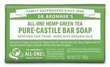 Dr Bronner Organic Green Tea Soap Bar - 140g