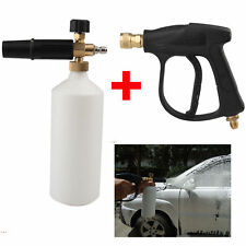 Snow Foam Lance Washer Car Wash Gun Soap Pressure Washer Bottle 1L+Spray Gun
