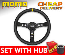 Momo MOD.08 Suede 08 Steering Wheel SET with BOSS KIT HUB to your car