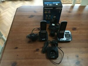 BT8500 CORDLESS HOME HANDSETS, WORKING, 1 X MISSING.
