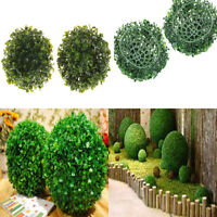 15CM Artificial Plant Ball Topiary Tree Boxwood Home Outdoor Wedding Decor LJ
