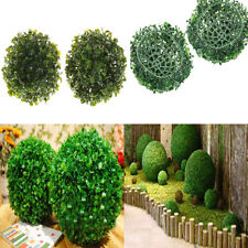 15CM Artificial Plant Ball Topiary Tree Boxwood Home Outdoor Wedding De GT