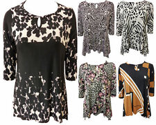 Waist Length Crew Neck Casual Floral Tops & Shirts for Women