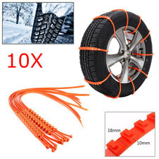 10Pc Winter Anti-skid Chains for Car Snow Mud Wheel Tyre Thickened Tire Tendon z