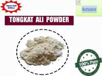 Pure Tongkat Ali Powder 100% Natural Thai Herb Root Non-Gmo Longjack Quality