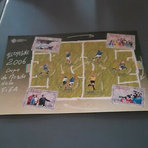 FOOTBALL - 2006 YT 97 - FEUILLET NEUF** MNH LUXE