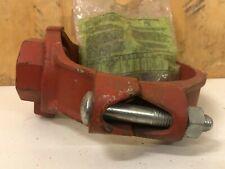 Gruvlok Mechanical Clamp Tee Threaded 6 X 2 Fig 7045