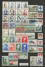 FRANCE  1958 Année Complète 47 Timbres neufs ★★ luxe / MNH