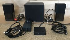 Dell AC411 Computer Speakers 2.1 System with Powered Subwoofer & Remote Control