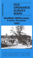 Old Ordnance Survey Map Sheffield Millhouses 1903 - Yorkshire Sheet 298.03