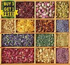 Dried Flowers & Petals for Tea Gin Tonic Infusion Cake Decor Cooking Lavender