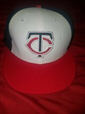 Minnesota Twins New Era Hat 59Fifty Official On Field Cap MLB 7 1/2