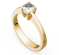 Antragsring - Verlobungsring - Gold 585 Gelbgold Brillant 1,00ct TW/SI  - TOP