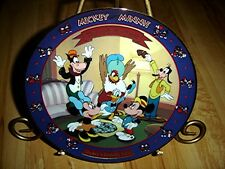 Mickey And Minnie Through The Years Mickey's Birthday Party Bradford Plate