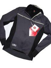 CASTELLI women's Trasparente 3 jersey Gore Windstopper Grey BLACK Jacket Large L