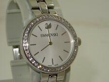 ladies swarovski crystal watch